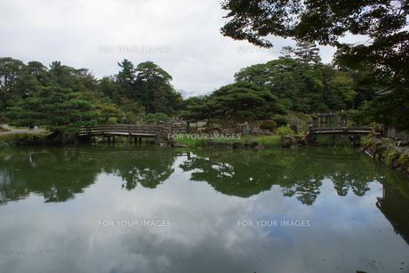彦根城玄宮園の写真素材 [FYI01202806]