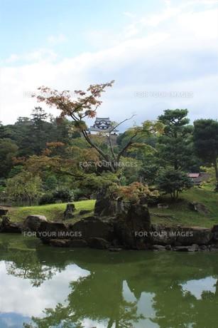 彦根城玄宮園の写真素材 [FYI01202818]