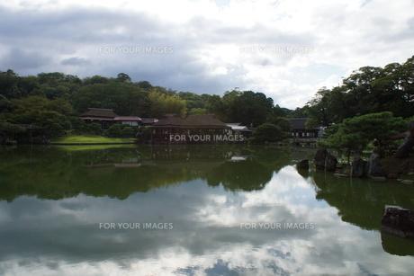 彦根城玄宮園の写真素材 [FYI01202821]