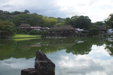 彦根城玄宮園の写真素材 [FYI01202822]