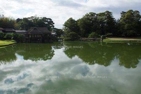 彦根城玄宮園の写真素材 [FYI01202825]