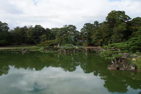 彦根城玄宮園の写真素材 [FYI01202826]