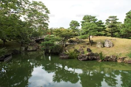 彦根城玄宮園の写真素材 [FYI01202832]
