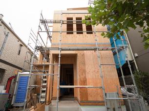 住宅建設現場の写真素材 [FYI01202875]