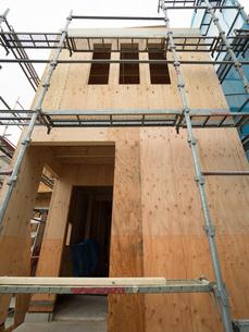住宅建設現場の写真素材 [FYI01202877]