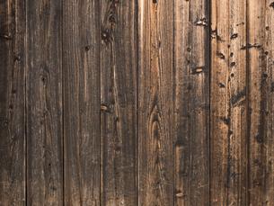 古い板壁の写真素材 [FYI01202884]
