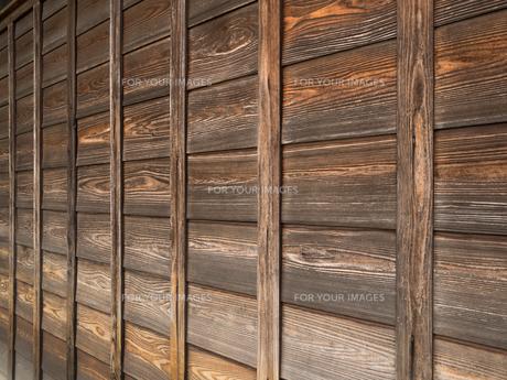 古い板壁の写真素材 [FYI01202890]