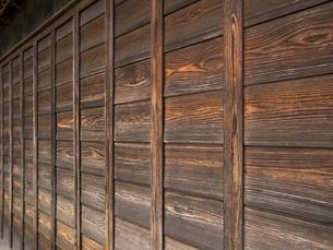 古い板壁の写真素材 [FYI01202891]