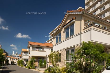 新興住宅街の写真素材 [FYI01202907]