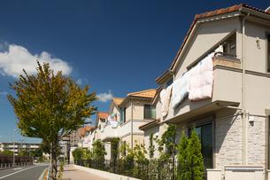 新興住宅街の写真素材 [FYI01202908]