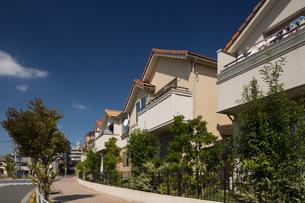 新興住宅街の写真素材 [FYI01202909]