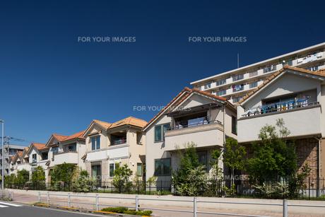新興住宅街の写真素材 [FYI01202910]