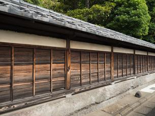 古い住宅の塀の写真素材 [FYI01202926]