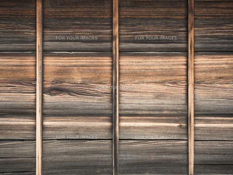 古い板壁の写真素材 [FYI01202935]
