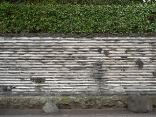 瓦塀の写真素材 [FYI01202958]