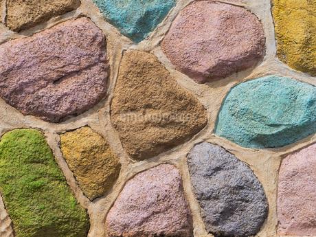 カラフルな壁の写真素材 [FYI01202962]