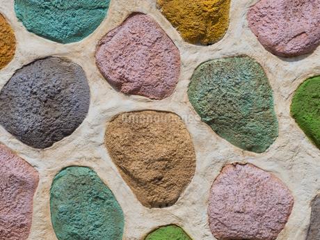 カラフルな壁の写真素材 [FYI01202965]