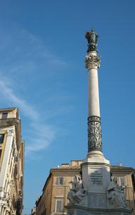 ローマ ミニャネッリ広場の写真素材 [FYI01203144]