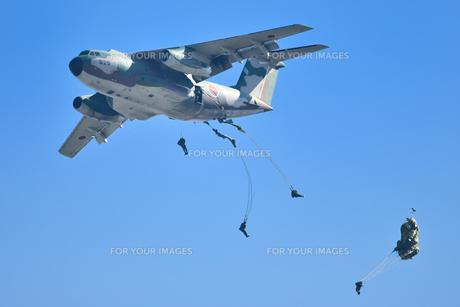 航空自衛隊のC-1輸送機の写真素材 [FYI01203283]