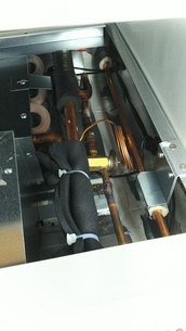 機械 冷凍 配管の写真素材 [FYI01203387]