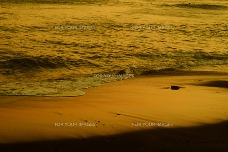 サンセットビーチ3の写真素材 [FYI01203441]