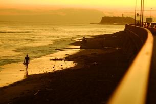 サンセットビーチ1の写真素材 [FYI01203443]