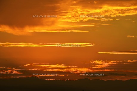 夜明けの色 ・ この地球では いつもどこかで 朝が始まっている…(谷川俊太郎 「朝のリレー」より)の写真素材 [FYI01203575]