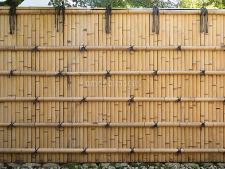 竹塀の写真素材 [FYI01203605]