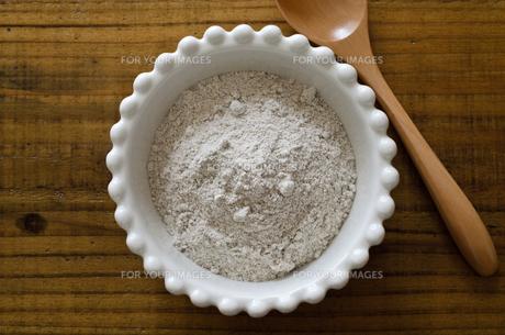 ライ麦粉の写真素材 [FYI01203705]