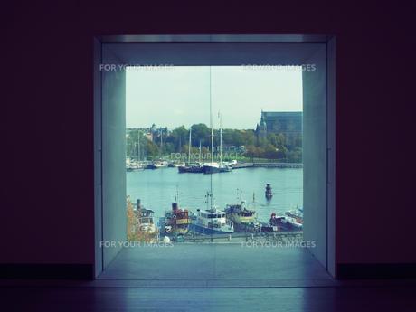 窓からみた景色の写真素材 [FYI01203950]