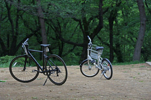 自転車の写真素材 [FYI01204438]
