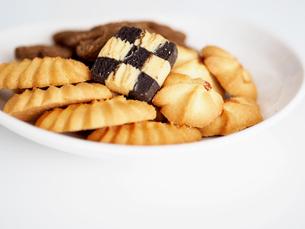 美味しそうなクッキーの写真素材 [FYI01204543]