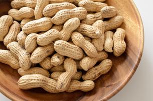ピーナッツ 殻付きの写真素材 [FYI01204705]