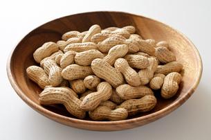 ピーナッツ 殻付きの写真素材 [FYI01204707]