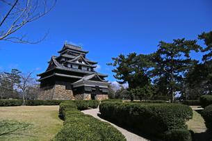 お城 松江城の写真素材 [FYI01205064]