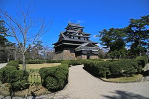 お城 松江城の写真素材 [FYI01205065]