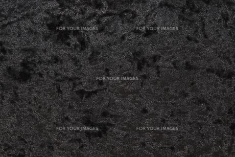 ブラックベロア布のきめ細かい質感の写真素材 [FYI01205177]