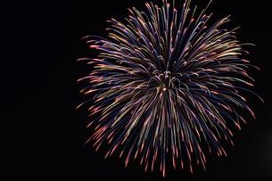 花火大会 ・ 君がいた夏は 遠い夢の中 空に消えてった打ち上げ花火…(Whiteberry 夏祭り より)の写真素材 [FYI01205915]