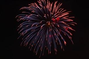 花火大会 ・ 君がいた夏は 遠い夢の中 空に消えてった打ち上げ花火…(Whiteberry 夏祭り より)の写真素材 [FYI01205920]