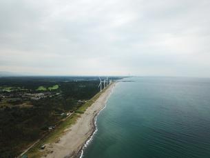 新潟県村松浜の海岸の写真素材 [FYI01206208]