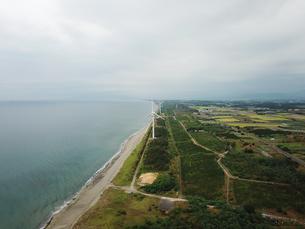 新潟県村松浜の海岸の写真素材 [FYI01206210]