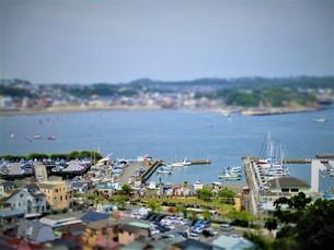 江の島の風景の写真素材 [FYI01206452]