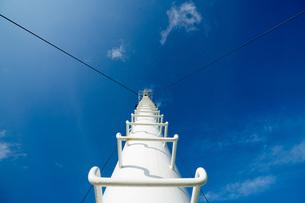 空に続く階段の写真素材 [FYI01206468]