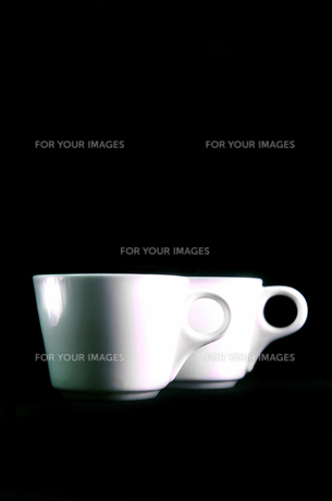 2客のマグカップの写真素材 [FYI01206615]