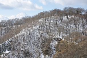 冬の丹沢と富士山の写真素材 [FYI01206711]