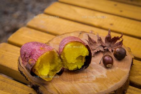 秋の味覚の写真素材 [FYI01207014]