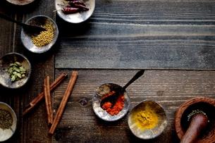 インド料理の食材 スパイスの写真素材 [FYI01207298]