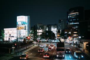 夜の原宿の写真素材 [FYI01207337]
