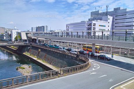 大船駅西口の風景の写真素材 [FYI01207365]