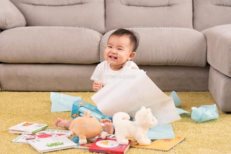 赤ちゃん、子供・遊びの写真素材 [FYI01207403]